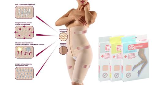 Лечебные свойства компрессионного белья