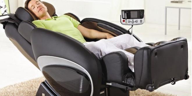 История автоматического массажного кресла
